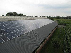 Zonnepanelen op het dak in Bakel