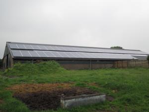 Zonnepanelen op het dak in Buschoten-Spakenburg