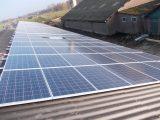 Zonnepanelen op het dak De Glind