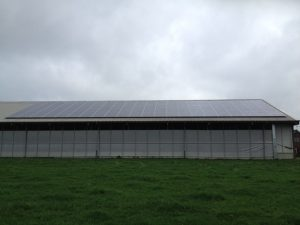 Zonnepanelen op het dak in Heino
