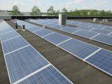 Zonnepanelen op het dak Hoogeveen