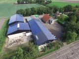 Zonnepanelen op het dak Nagele