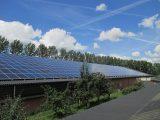 Zonnepanelen op het dak Ravenstein