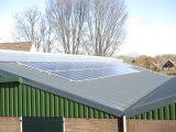 Zonnepanelen op het dak Wijdewormer