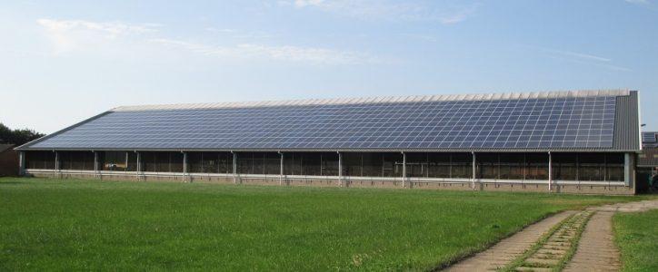 Zonnepanelen op platteland presteren beter