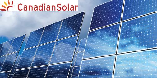 Canadian Solar zonnepanelen meeste waar voor geld