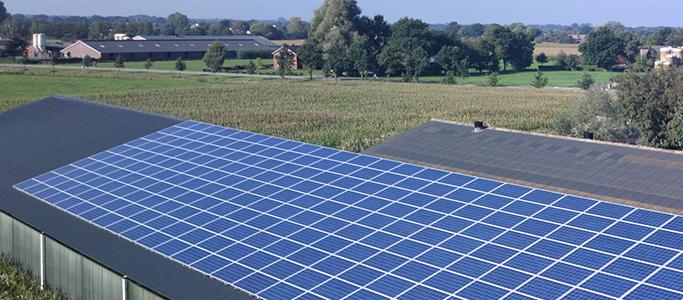 Groei van groene stroom vooral door zonnepanelen op daken