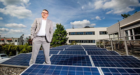 zonnepanelen op het dak alfa accountants