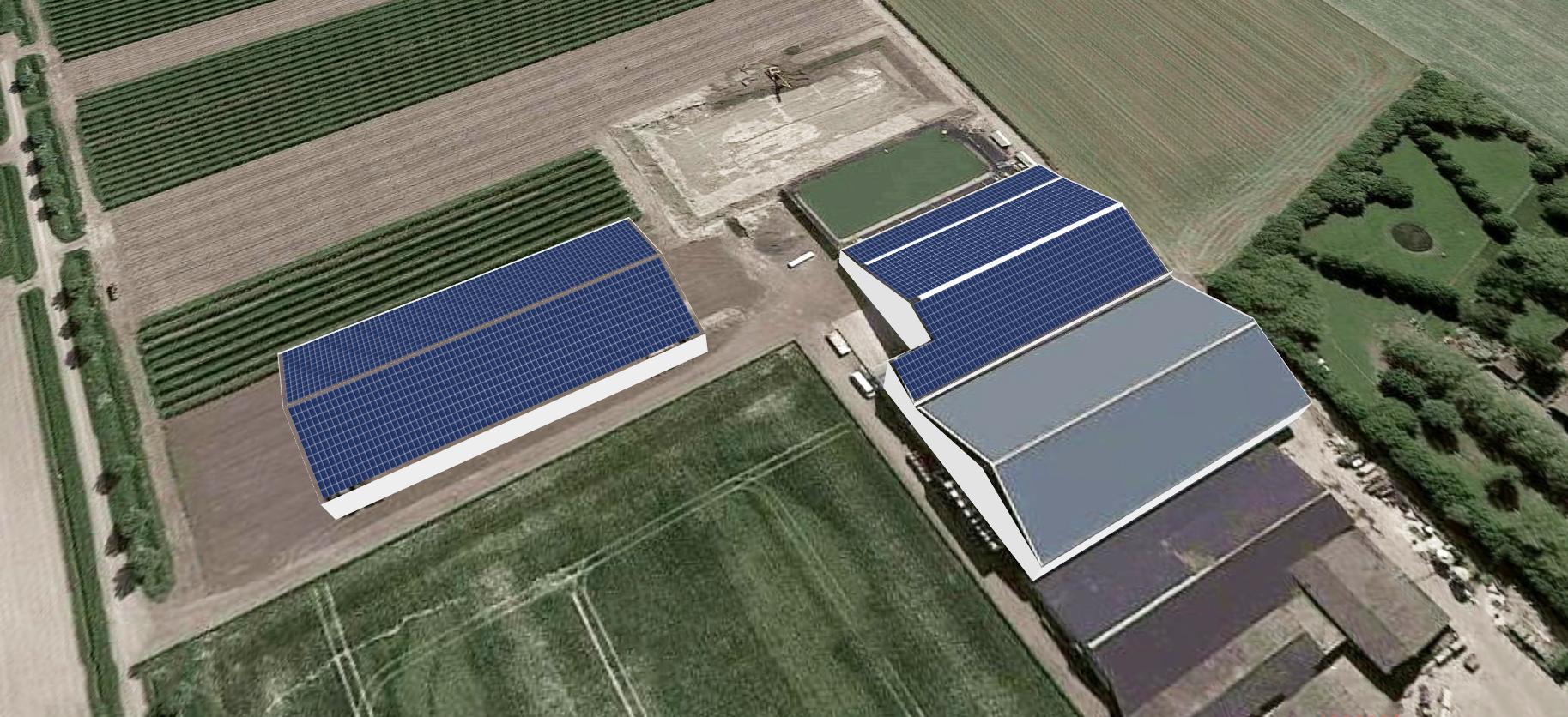 legplan zonnepanelen Van Rossum Stavenisse